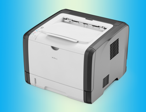 RICOH SP 377DNWX Laser Printer